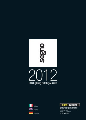 LED Lighting Catalogue 2012 - City in Led
