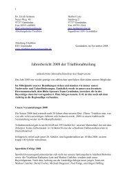 Jahresbericht 2008 - Triathlon Team Gemünden