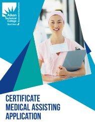 Medical Assistant - Aiken Technical College