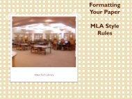 MLA PowerPoint presentation [PDF] - Aiken Technical College