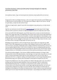 Formandens beretning for 2009.pdf - Bevægelsen for miljøvenlig ...