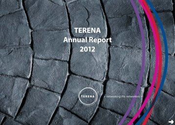 TERENA Annual Report 2012