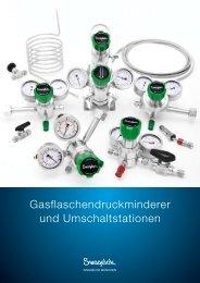 Gasflaschendruckminderer - Swagelok München
