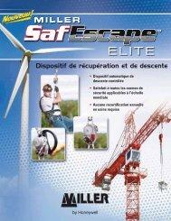 Dispositif de récupération et de descente - Miller Fall Protection