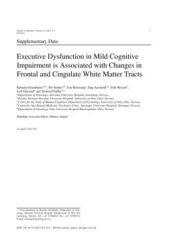 Supplementary Data for Grambaite et al. article (PDF) - Journal of ...