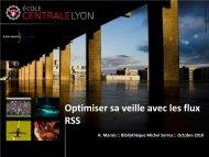 Optimiser sa veille avec les flux RSS - Bibliothèque Ecole Centrale ...