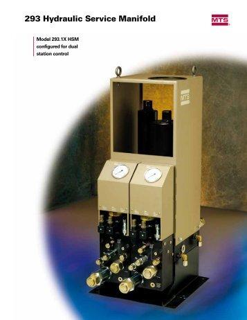 293 Hydraulic Service Manifold - MTS