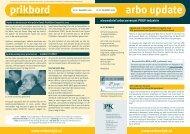 arbo update - Verbond P&K