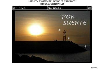 recetas orientales música y cantares desde el - HectorTierno.org