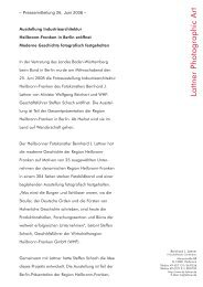Pressemitteilung 26. Juni 2008 - BJ Lattner