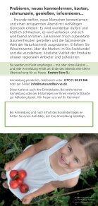 NaturundFein_Geniersserabend_2012 - Natur und Fein Villingen ... - Seite 2
