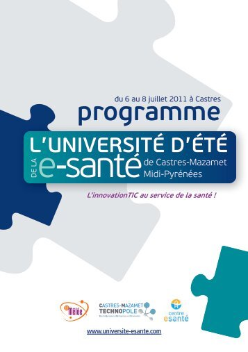 Programme deTaILL - Castres Mazamet Technopole