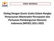 Dialog Dengan Dunia Usaha Dalam Rangka ... - Kadin Indonesia
