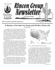 April 2013 newsletter.pub - Arizona Sierra Club