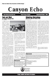 Sep/Oct 2005 (404 KB pdf) - Arizona Sierra Club