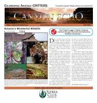 Fall 2012 Echo (3.7 MB pdf) - Arizona Sierra Club
