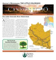 Spring 2013 (3.9 MB pdf) - Arizona Sierra Club