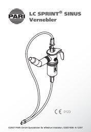 LC SPRINT SINUS Vernebler - PulmoMed