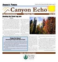 Winter 2010 (2.3 MB pdf) - Arizona Sierra Club