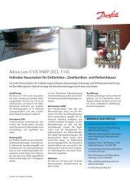 Akva Lux II VX HWP (ECL 110) - Danfoss GmbH