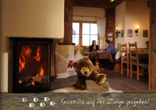 Winterpreisliste 2013 / 14 - Grizzly Resort