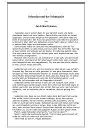 Sebastian und der Schutzgeist - Jan Erhardt Jensen