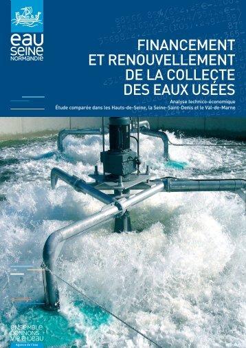 Financement et renouvellement de la collecte des eaux usées