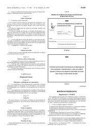 Diário da República, 2.ª série — N.º 203 — 19 de Outubro de 2010 ...