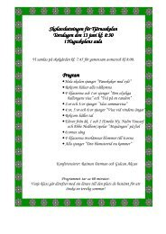 8:30 juni kl: 8:30 i Hagaskolans aula Program