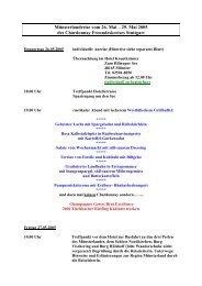 Programm Münsterlandreise 26.-29. Mai 2005 - Rudolf X. Ruter