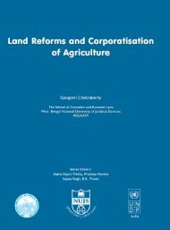 Land Reforms and Corporatisation of Agriculture. - Indian Institute of ...