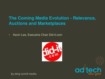 The Coming Media Evolution - Relevance, Auctions and Marketplaces