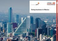 Doing business in Mexico - HSBC Global Connections