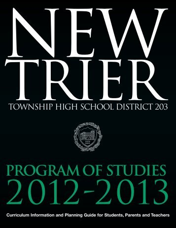Program of Studies 2012-2013 - New Trier Township High School