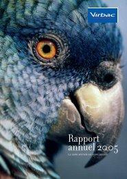 Rapport financier annuel - 2005 - Virbac