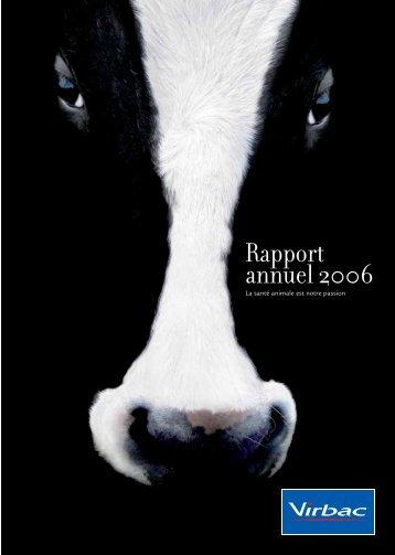 Rapport annuel 2006 - Virbac