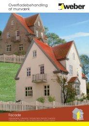 Overfladebehandling af murværk - Weber