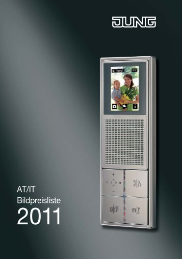 JUNG - Bildpreisliste ATIT 2011 - Euro Unitech