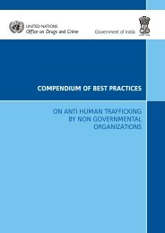 compendium of best practices on anti human trafficking by non