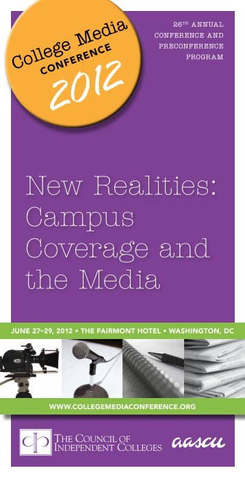 New Realities: Campus Coverage and the Media - The Council of ...