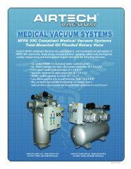 Download the NFPA 99C Compliant Medical Vacuum ... - Airtech
