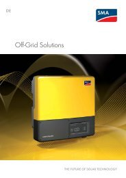 Off-Grid Solutions - Sunny Family 2011/2012 - My PV