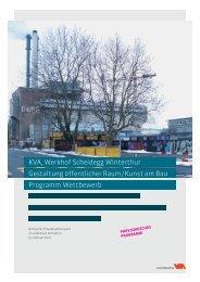 Programm Wettbewerb Gestaltung öffentlicher Raum / Kunst am Bau ...