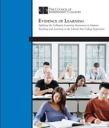 evidence of learning - National Institute for Learning Outcomes ...