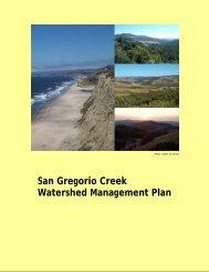 San Gregorio Creek Watershed Management Plan - San Mateo ...