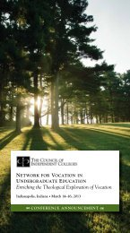 Download the conference brochure. - The Council of Independent ...