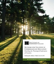 Download the conference program. - The Council of Independent ...
