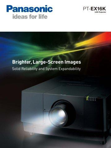 Panasonic EX16 - Brill AV Media