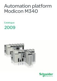 Automation platform Modicon M340 - Schneider Electric