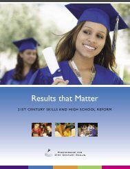 results that matter - The Partnership for 21st Century Skills